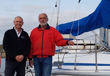 SEAREGS TRAINING TAKES THE HELM AT PLYMOUTH SAILING SCHOOL